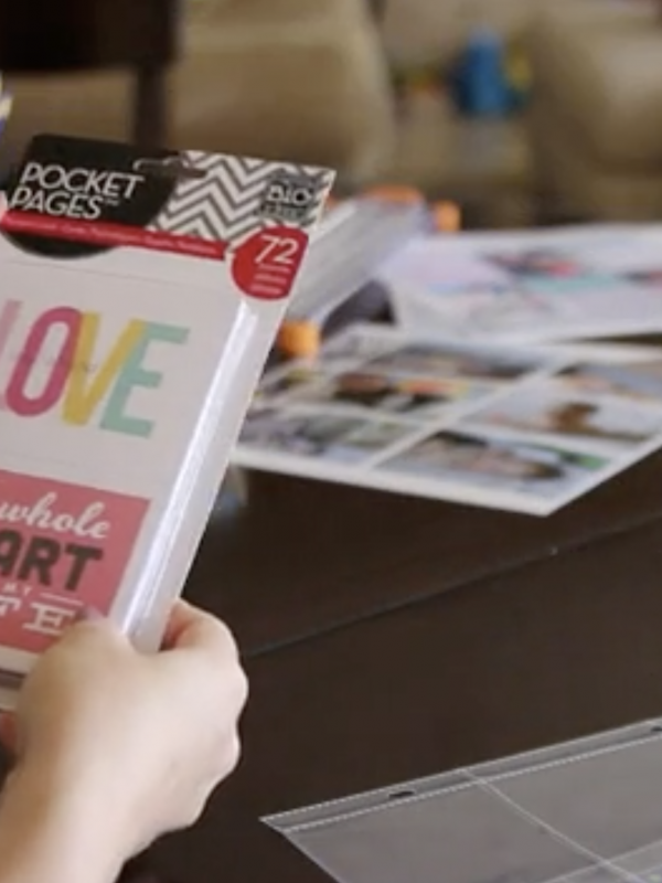 Product Video: Lifestyle: Pocket Pages
